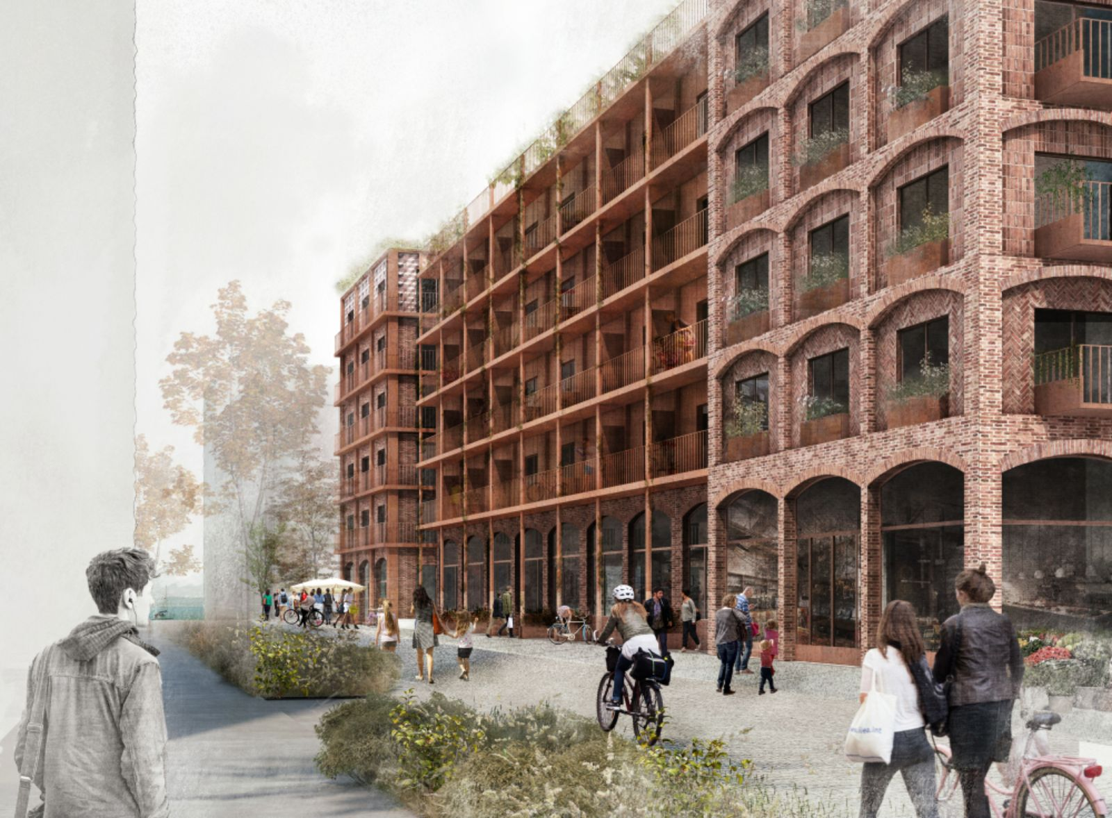 green housing project in Stockholm Royal Seaport