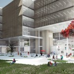 Wilson Architects and Henning Larsen Architects win QUT's Education Precinct competition