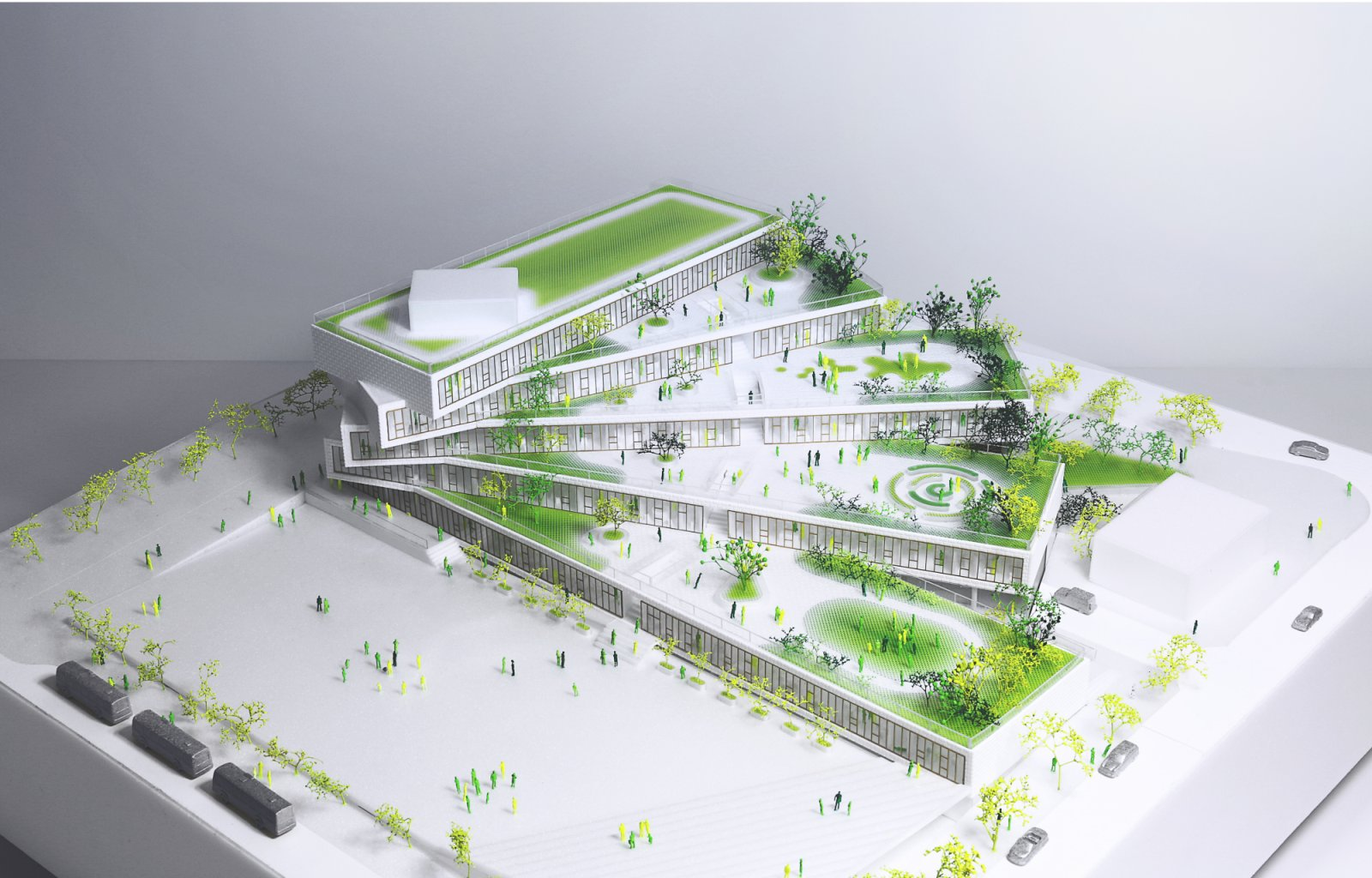 Wilson secondary school by big bjarke ingels group 12 for Big architecte