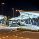 Winged Canopies for Perth Airport by Woods Bagot