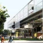 Winner of Arhus school competition by Erik Giudice Architecture