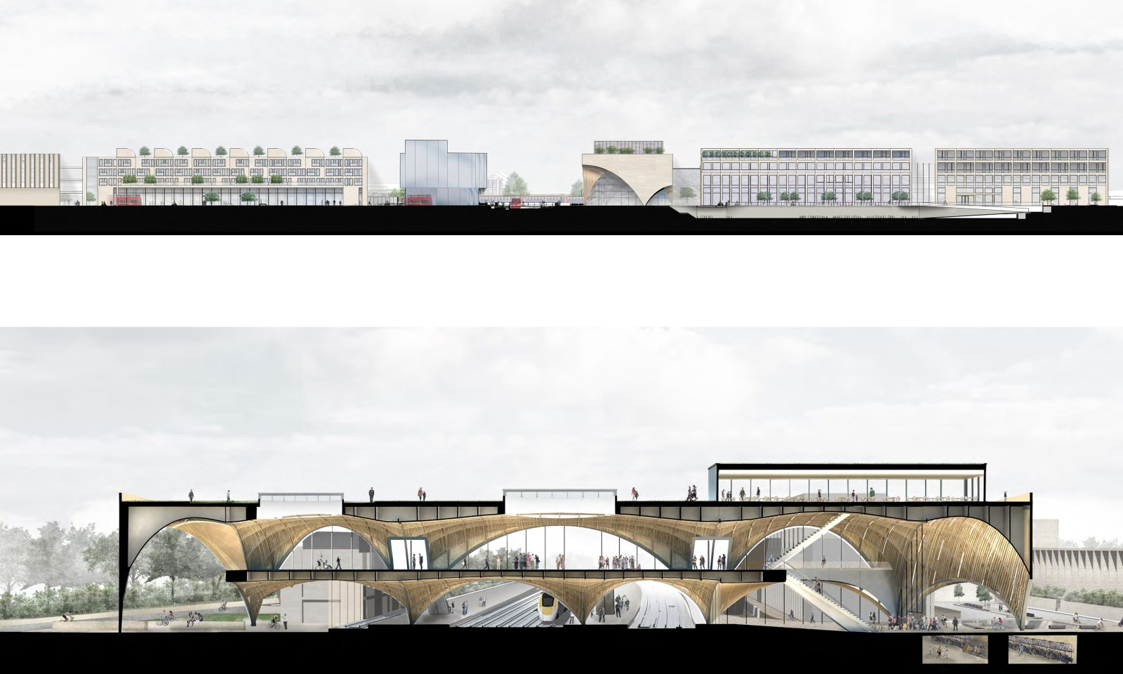 Winner Of Oxford Station Architecture Competition