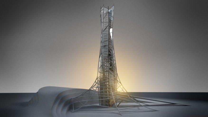 Skyhive Skyscraper