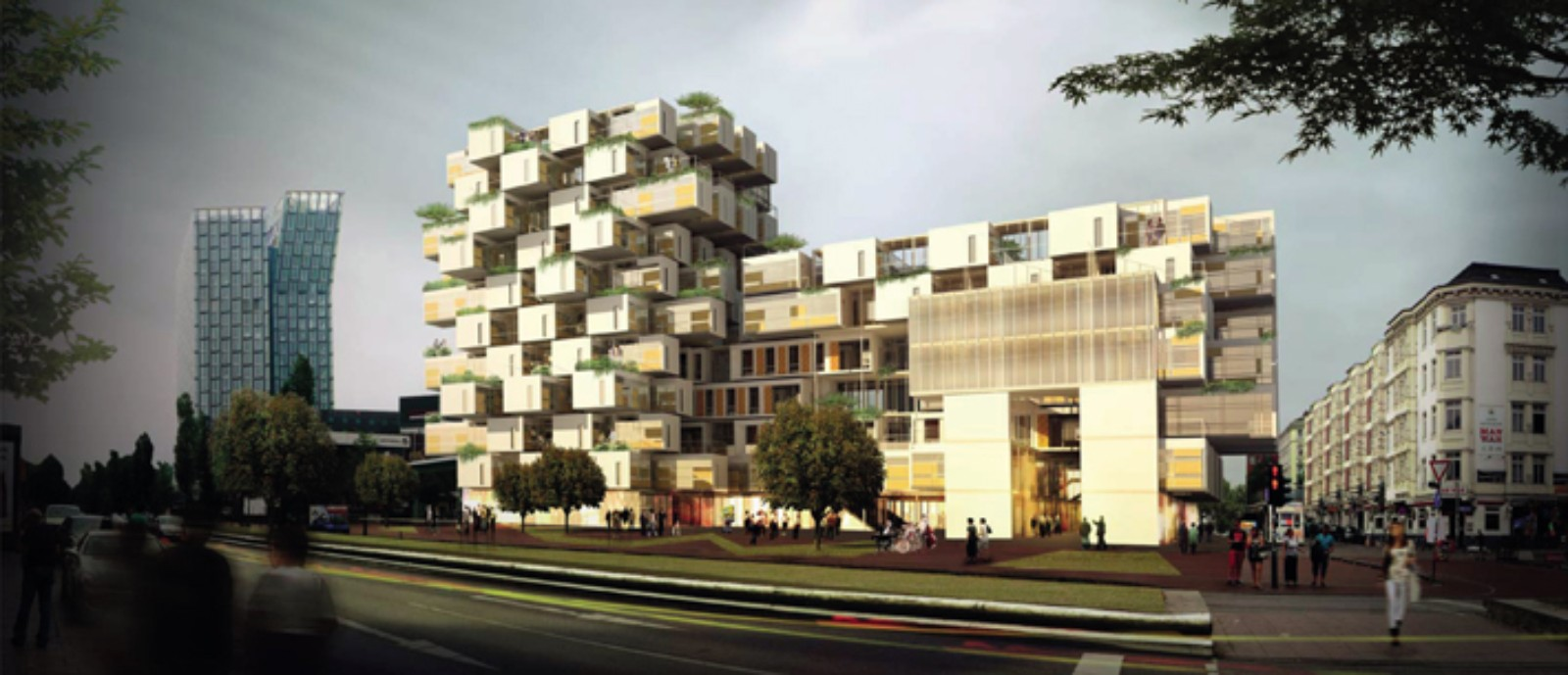 Hamburg Hybrid Housing