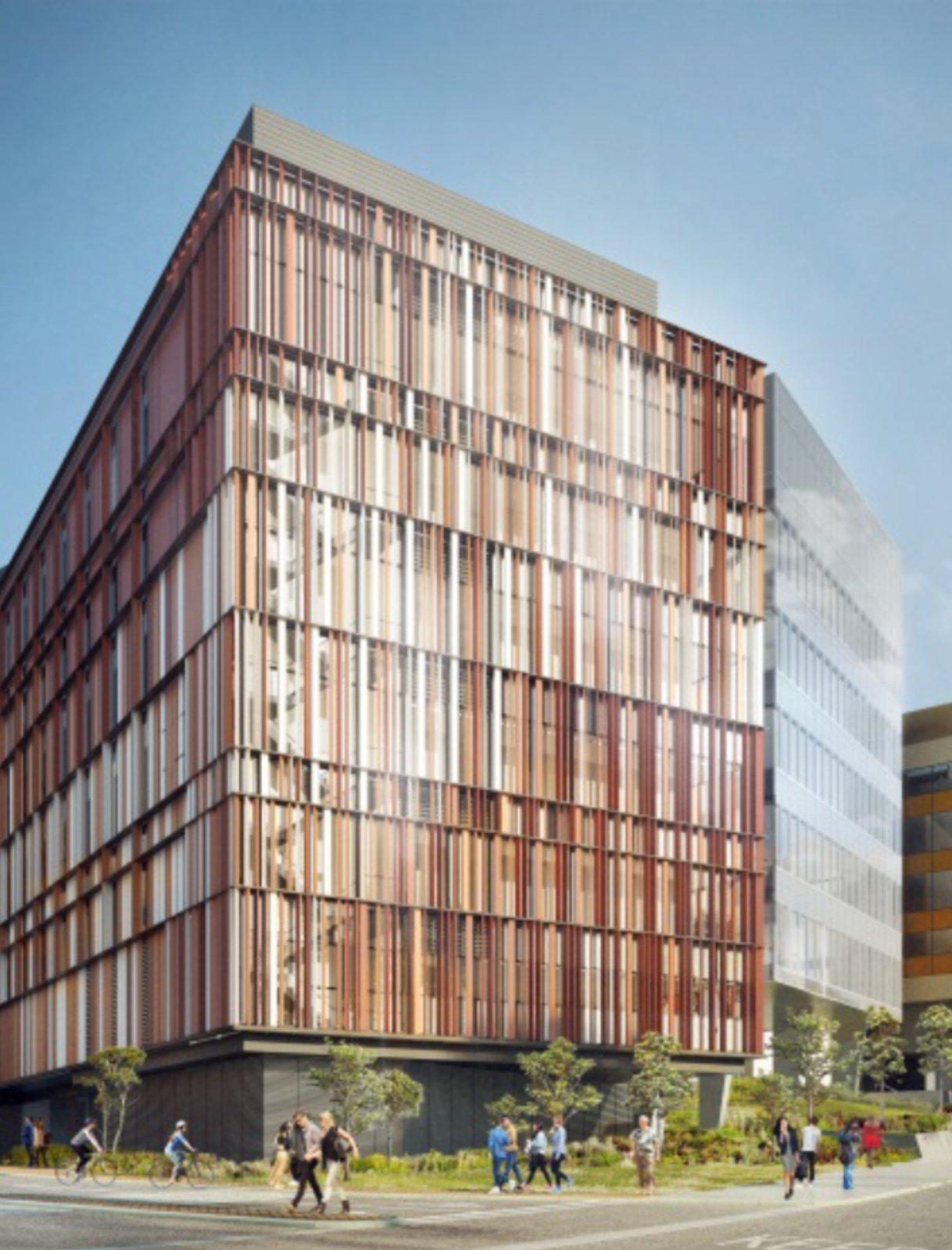 new Biological Sciences building