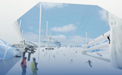 Indoor Ski Arena