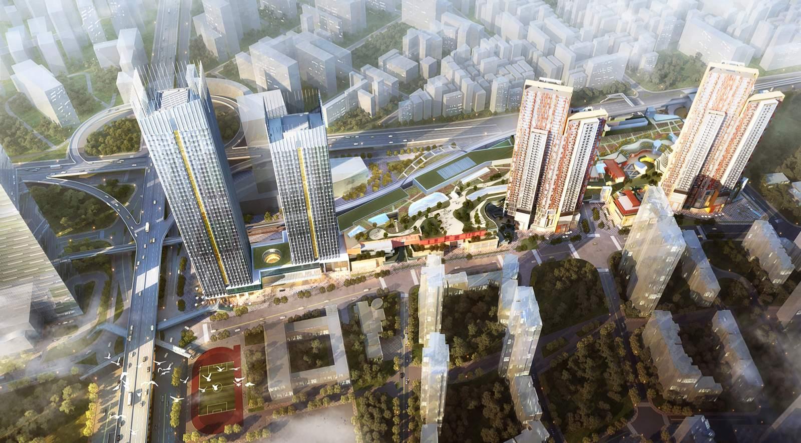 Wuhan Tiandi Park Place