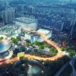 Xili Sports and Cultural Centre in Shenzhen by MVRDV