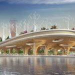 Yeouido Han River Park & Yeoui-Naru Floating Ferry Terminal by Vincent Callebaut Architectures