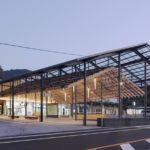 Yugawara Station Square by Kengo Kuma and Associates
