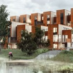 Zenhusen Sustainable town houses by C.F. Møller Architects