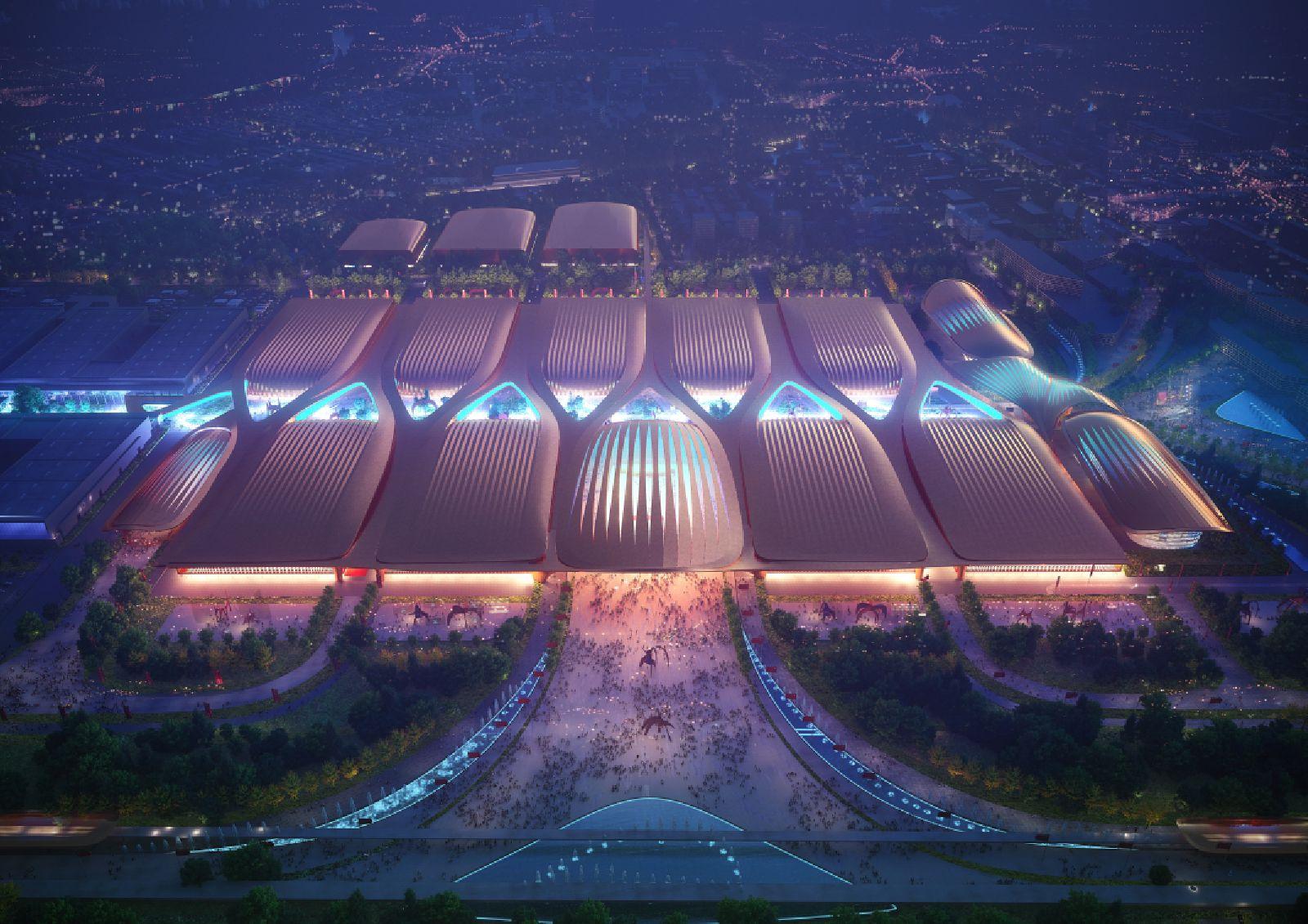 Beijing's International Exhibition Centre