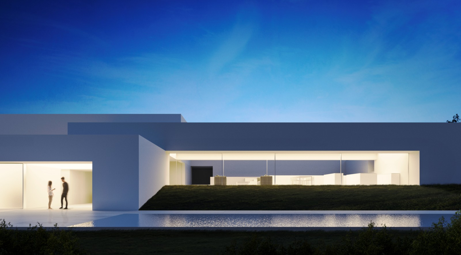 Zarid house by fran silvestre arquitectos a as architecture - Fran silvestre arquitectos ...