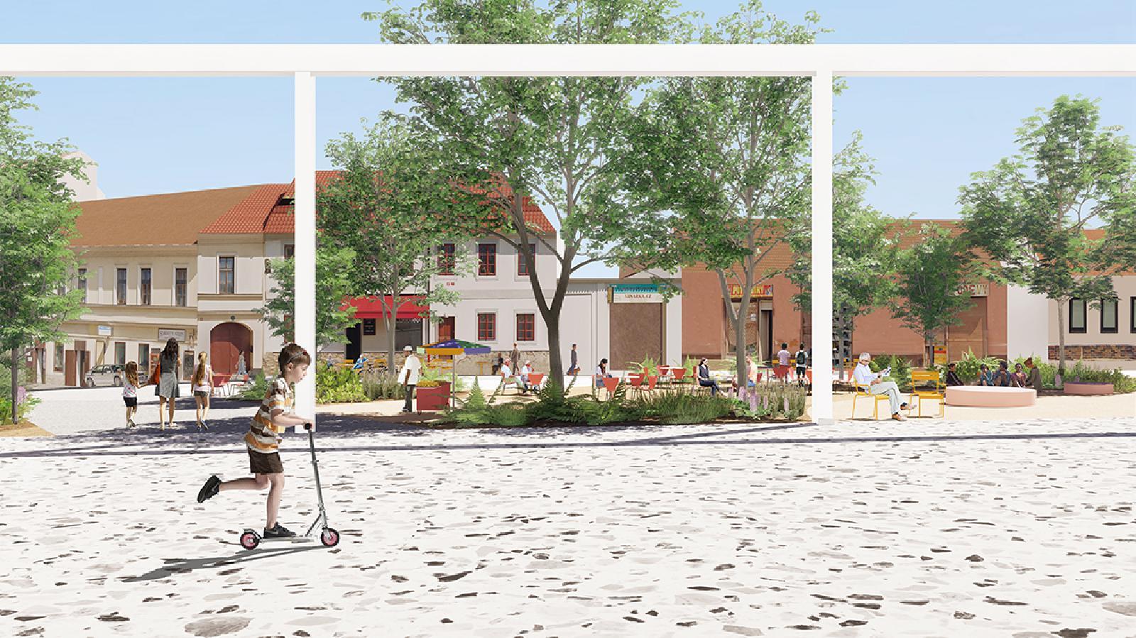 Zbraslav Square