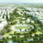 Zhangjiang Science and Technology City by gmp and KCAP win competition in Shanghai Pudong