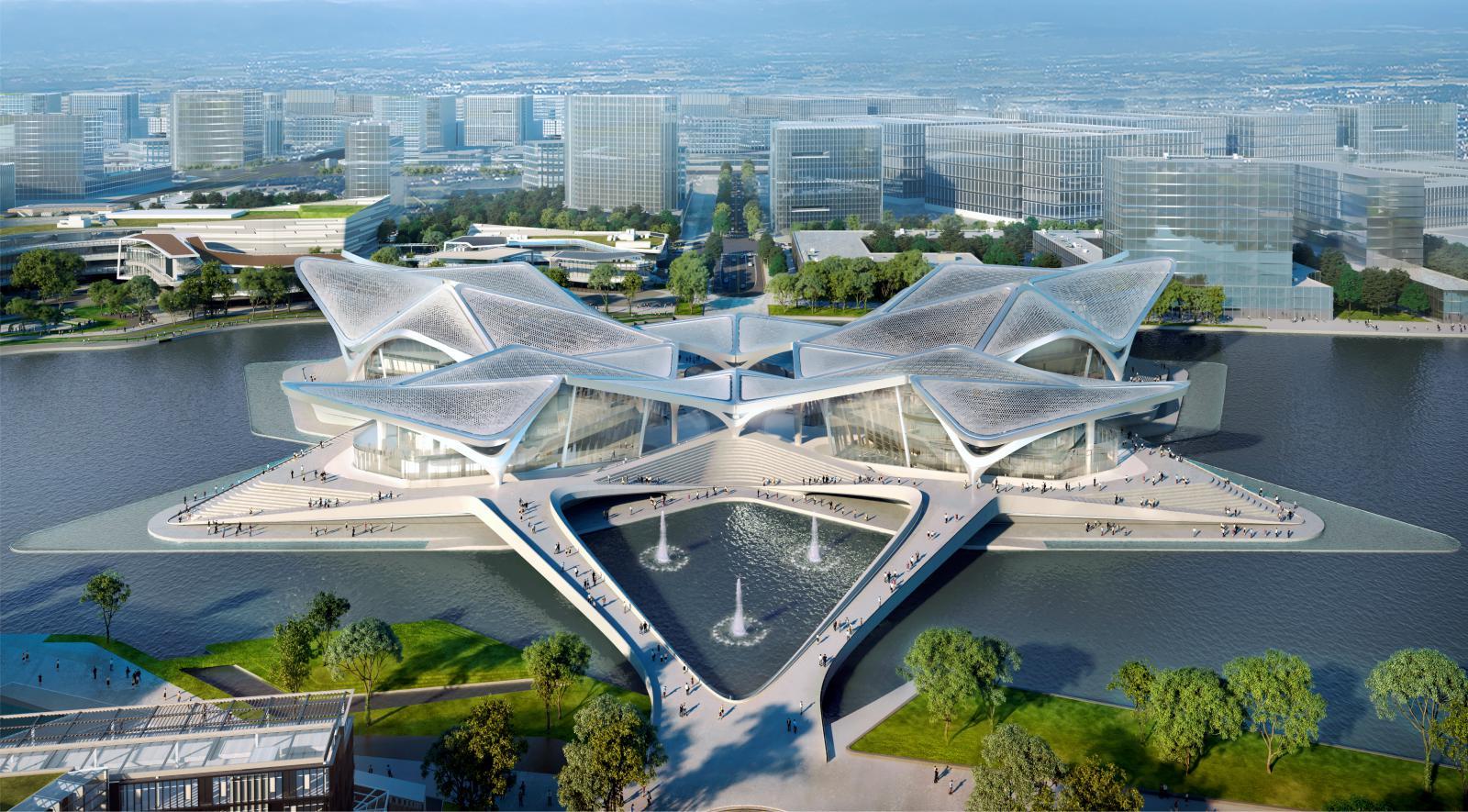 Zhuhai Jinwan Civic Art Centre