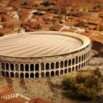 gmp and sbp win ideas competition for a new roof for Verona's historic arena